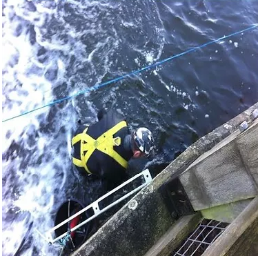 Diving Inspection and Fishpass Installation
